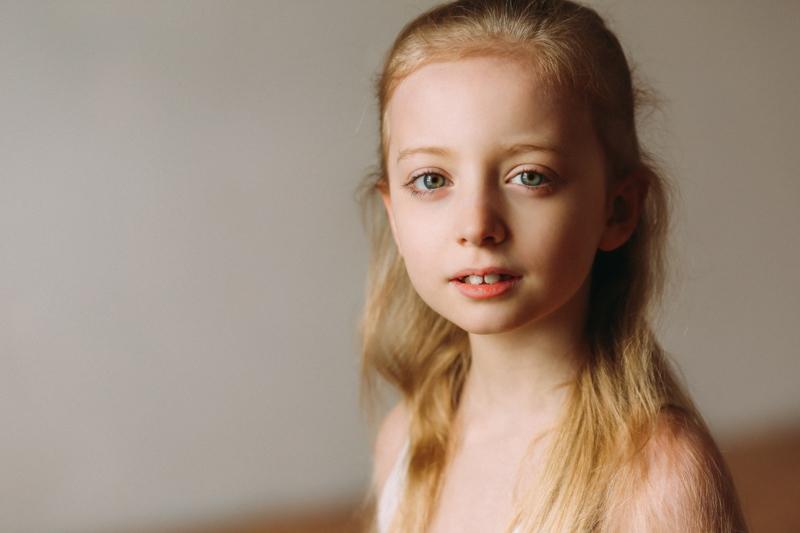 artist photography, close up of young ballet dancer